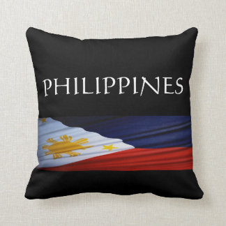 Philippines Throw Pillow