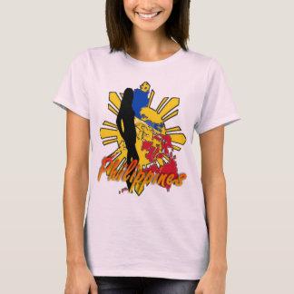 Philippines W/Girl Ladies T-Shirt