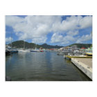 Philipsburg Harbour Gorgeous Day Postcard