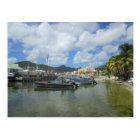 Philipsburg Harbour St. Maarten Postcard