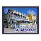Philipsburg - St. Maarten - postcard