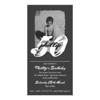 Phillips 50 customized photo card