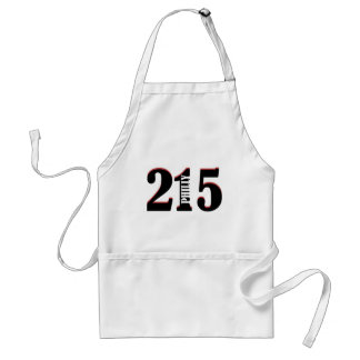 Philly 215 adult apron
