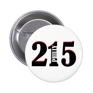 Philly 215 button