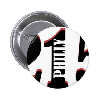 Philly 215 pinback buttons