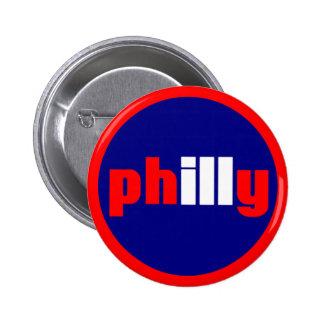Philly 6 Cm Round Badge