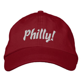Philly! Cap in Red and White