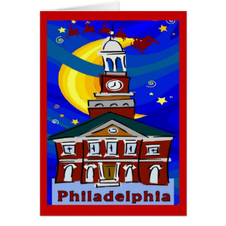 Philly Christmas Greeting Card