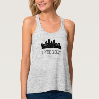 PHILLY FLOWY RACERBACK TANK TOP