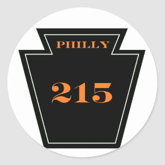 Philly Flyers PA  215 Punk hardcore sticker