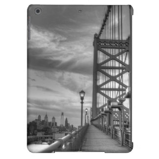 Philly from the bridge iPad air cover