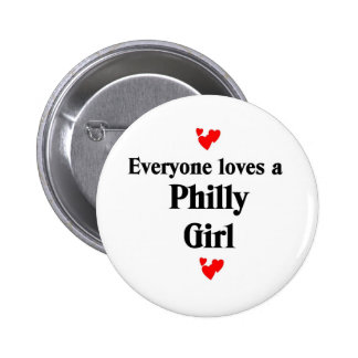 Philly Girl Buttons
