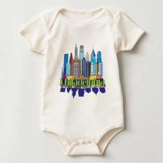Philly New Icon Baby Bodysuit