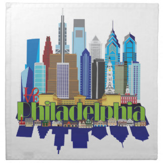 Philly New Icon Napkin