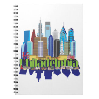 Philly New Icon Spiral Notebook