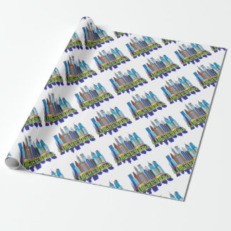 Philly New Icon Wrapping Paper