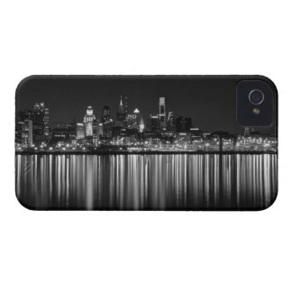 Philly night b/w Case-Mate iPhone 4 case