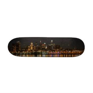 Philly night custom skate board