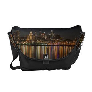 Philly night messenger bag