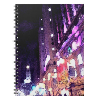 Philly Night Spiral Notebooks