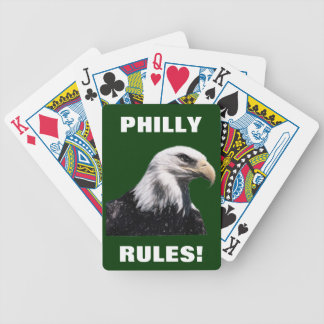 PHILLY RULES! POKER CARDS