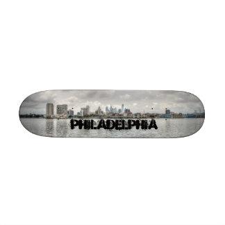 Philly skyline 21.6 cm old school skateboard deck
