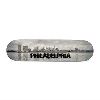 Philly skyline skate decks