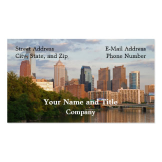 Philly summer business cards