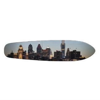 Philly sunset 21.6 cm old school skateboard deck