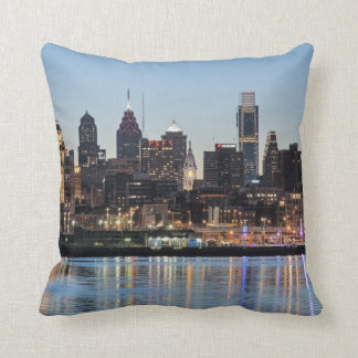 Philly sunset pillow