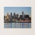 Philly sunset jigsaw puzzle