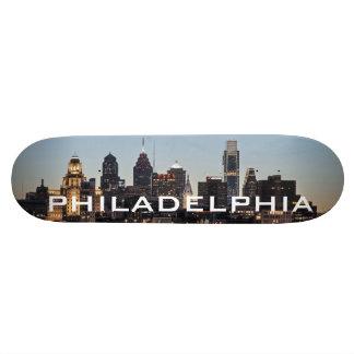 Philly sunset skate decks