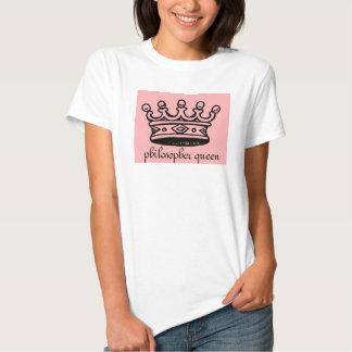 philosopher queen LADIES babydoll shirt