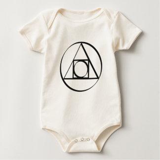 Philosophers stone baby bodysuit