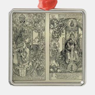 Philosophy and a Habsburg Emperor Metal Ornament