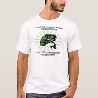 Philosoraptor Diarrhea T-Shirt