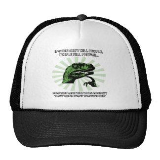 Philosoraptor Toast and Toasters Hat