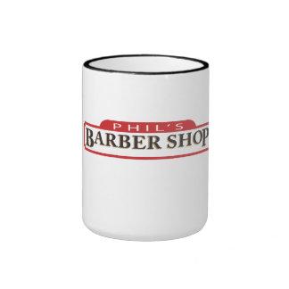 Phil's Barber Shop Ringer Mug