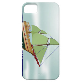 Phinisi Wooden Sailboat iPhone 5 Cases