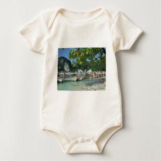 Phiphiisland_card Baby Bodysuit