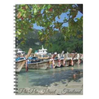 Phiphiisland_card Spiral Notebook