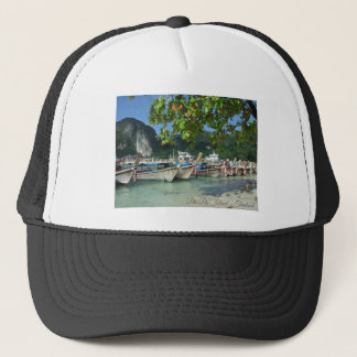 Phiphiisland_card Trucker Hat