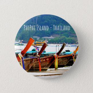 Phiphiisland postcard edition 6 cm round badge