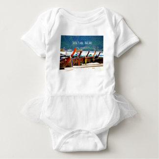 Phiphiisland postcard edition baby bodysuit