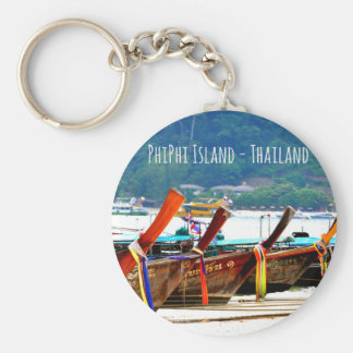 Phiphiisland postcard edition key ring