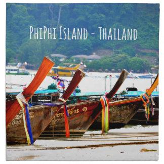 Phiphiisland postcard edition napkin
