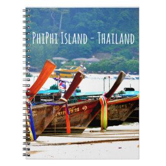 Phiphiisland postcard edition notebook