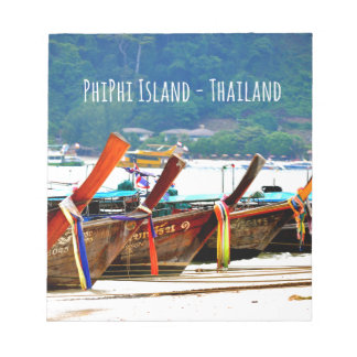 Phiphiisland postcard edition notepad