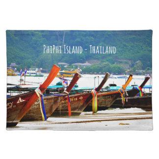 Phiphiisland postcard edition placemat