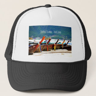Phiphiisland postcard edition trucker hat
